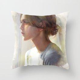 Take a decision Throw Pillow