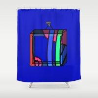 frames Shower Curtains featuring Frames 01 by Stefan Stettner