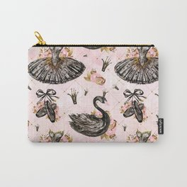 Black swans ballerina #1 Carry-All Pouch