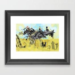 Building a Better Buffalo: The Whole Enchilada Framed Art Print