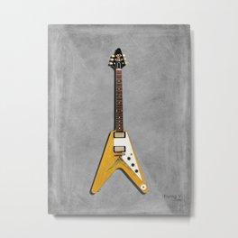 The Flying V Metal Print