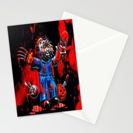 Freddy Of All Faces Stationery Cards