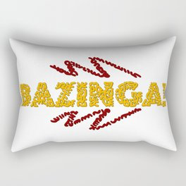 BAZINGA ! Rectangular Pillow