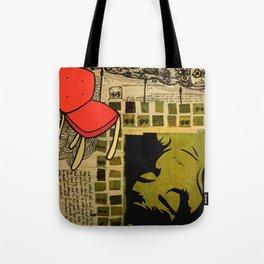 """everywhere"" Tote Bag"