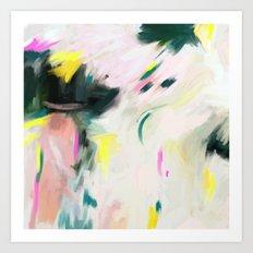 Abstract love 3 Art Print