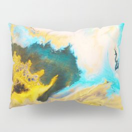 Sandstone washed by Waves on Vancouver Island Pillow Sham