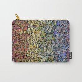 rainbow of butterflies aflutter Carry-All Pouch