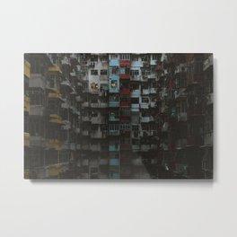 Hong Kong Estates Metal Print
