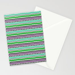 Lines and Dots 5 Stationery Cards