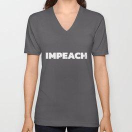 Impeach Trump Shirt, Anti Trump Unisex V-Neck