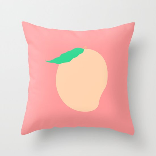 #77 Mango Throw Pillow