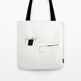 The Book - Black and white series Tote Bag