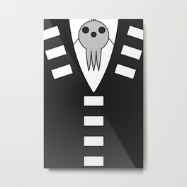 Death the Kid Jacket Metal Print
