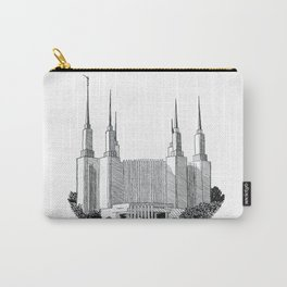 Washington DC LDS Temple Carry-All Pouch