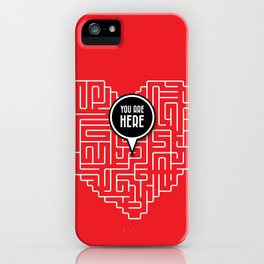 Finding Love iPhone Case