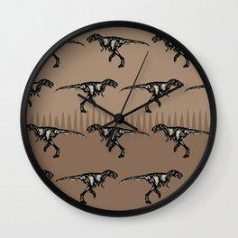 ChocoPaleo: Tyrannosaurus Rex Wall Clock