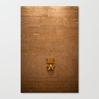 soviet Canvas Prints featuring Soviet Star by Daniel Fornies