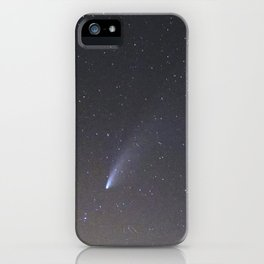 Comet Neowise and Mojon del Trigo Observatory 2.600 meters high. Sierra Nevada National Park iPhone Case