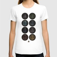 skyrim T-shirts featuring Shield's of Skyrim by VineDesign