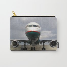 America West Airlines 757 parked on ramp Carry-All Pouch