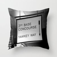 boston Throw Pillows featuring Boston by Gold Street Photography