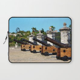 Cannons at Morro Castle Laptop Sleeve