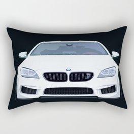 BMW M6 Ilustration Rectangular Pillow
