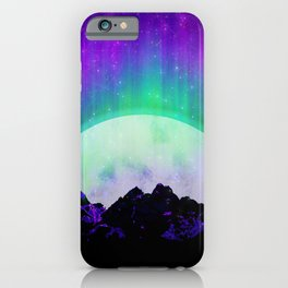 Under the Northern Lights iPhone Case