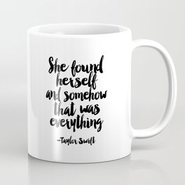 Quote,Swift Quote,Typography Print,Pardon My French,Inspirational Quote,Wall Art,Girls Room Coffee Mug