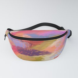 Rainbow Seed by H.M.Craig Fanny Pack