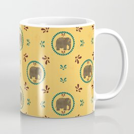 Elegant Elephants Coffee Mug
