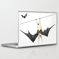 bat Laptop & iPad Skins featuring bat by Alp Adal