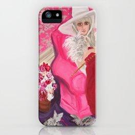 """miu miu, tuesday around 4 ish"" iPhone Case"