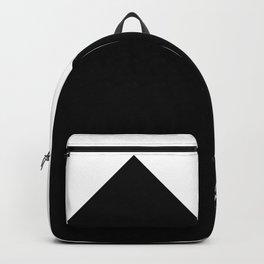 Triangle Black Backpack