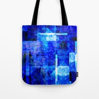 discount Tote Bags featuring Sapphire Nebulæ by Aaron Carberry