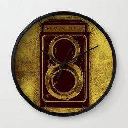 Retro Vintage Kodak Camera Wall Clock