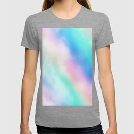 Rainbow Pastel Clouds T-shirt