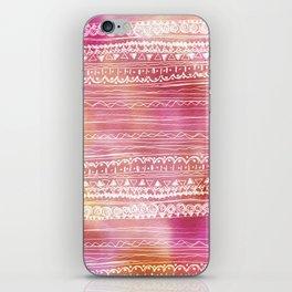 aztec spring  iPhone Skin