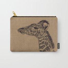 Geraldine Giraffe Carry-All Pouch