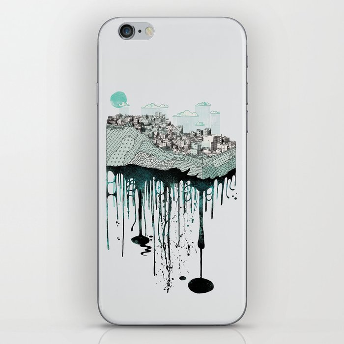 Don't let it go to waste iPhone Skin