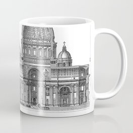 St. Peter Basilica - Rome, Italy Coffee Mug