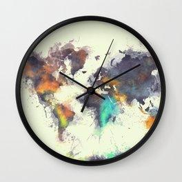 world map 106 #worldmap #map Wall Clock