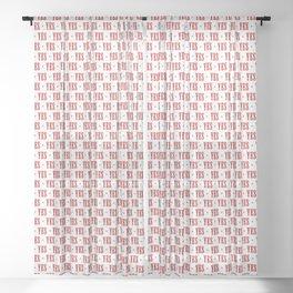 Say Yes Sheer Curtain