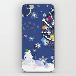 """Seasons"" Happy New Year iPhone Skin"