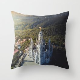 Temple of the Sacred Heart of Jesus Throw Pillow