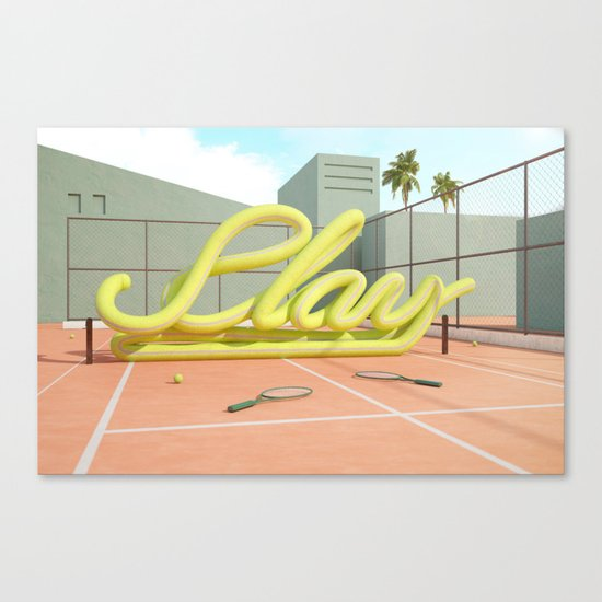 Summer Vibes (Play-1) Canvas Print