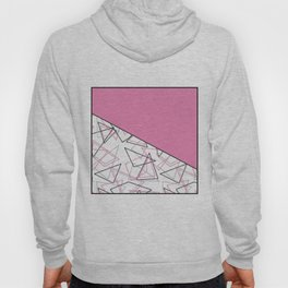 Abstract pink combo pattern . Hoody