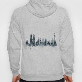 Barcelona Skyline Hoody