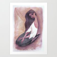 L'Espagnole Art Print