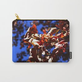 Crisp Fall Leaves Carry-All Pouch